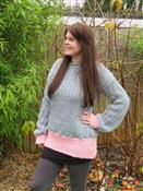 Knit Ribbed Jumper