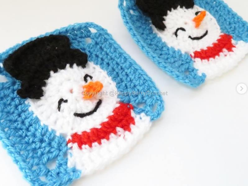 Christmas | Free Crochet Patterns | HappyBerry