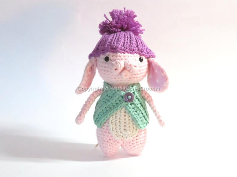 Amigurumi Rabbit with Hat