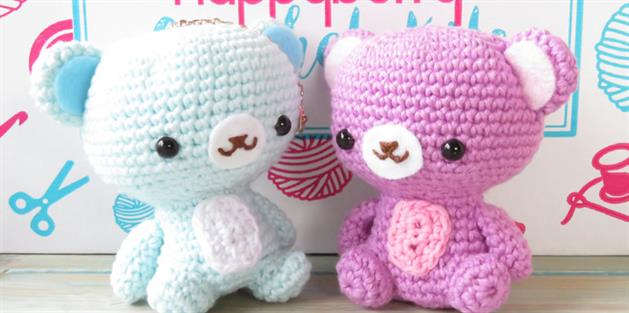 Tutorial: how to make an amigurumi bear.... - DHG Dyeing House ... | 313x629