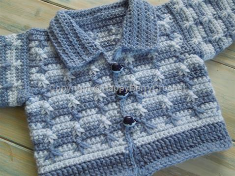 Little Leaf Baby Cardigan