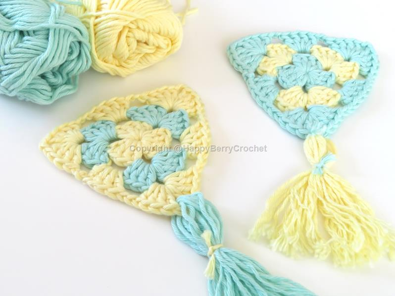 Summer Bunting/Pennant - Granny Triangle