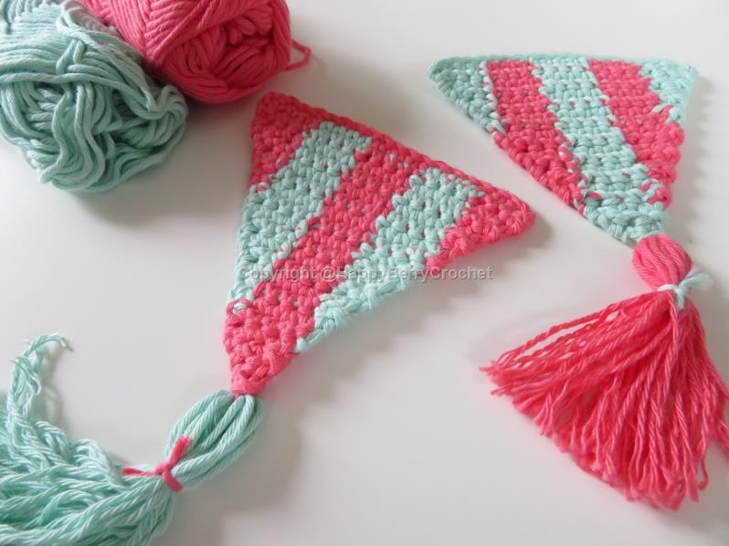 Summer Bunting/Pennant - Vertical Stripes