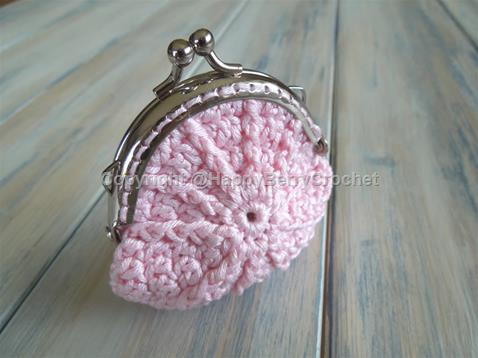 Coin Purse with Frame