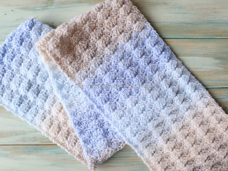 Easy Shell Stitch Scarf