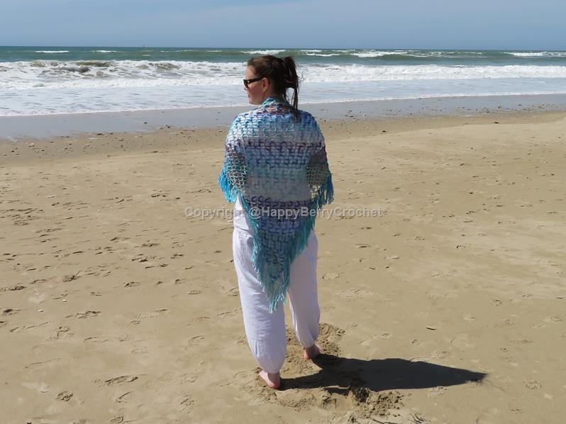 Sea Breeze Shawl