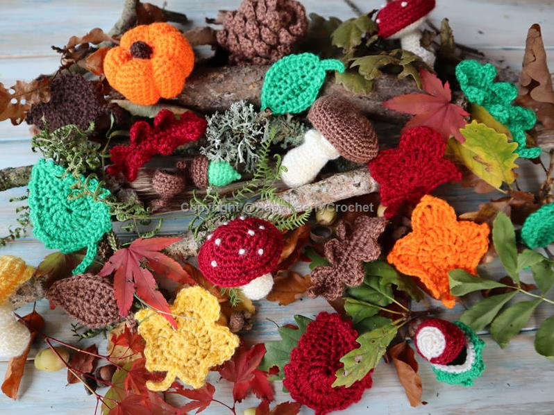 Autumn Fall Crochet Book