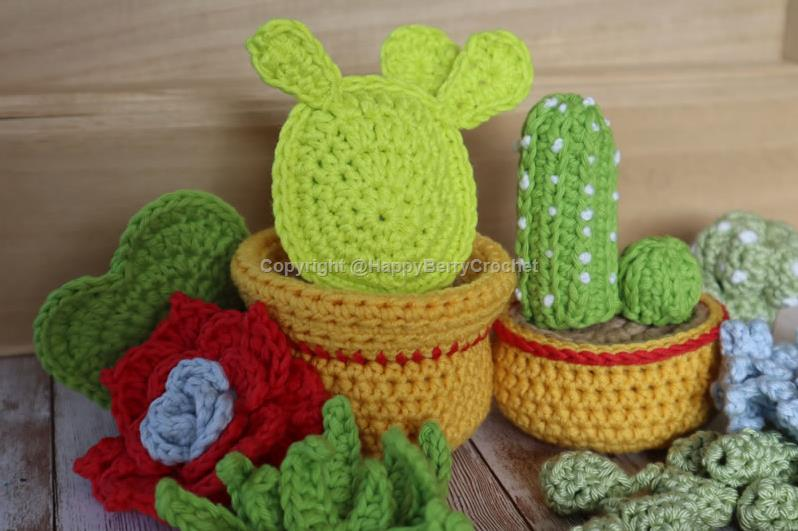 Crochet eBook - Cacti & Succulents