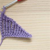 What do you call larger crochet stitches?